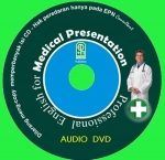 Audio CD English for Medical Presentation